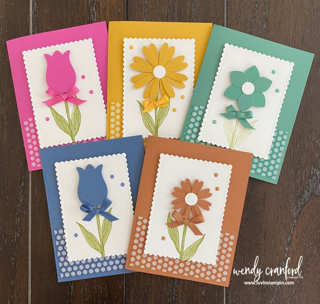 2020-2022 Stampin' UP! In Colors card ideas