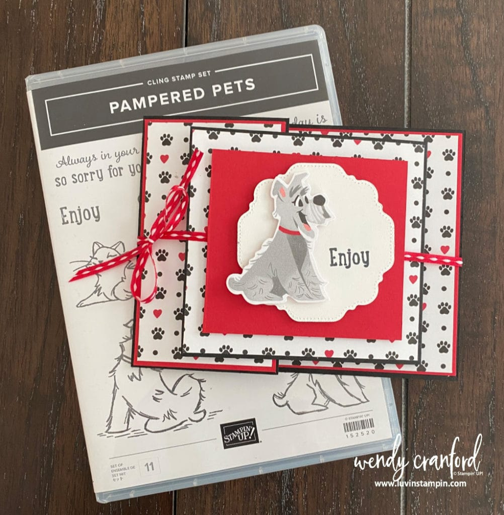 Pampered Pets Bundle from Stampin' UP!