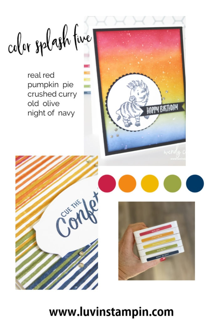 Color Splash Five with Wendy Cranford