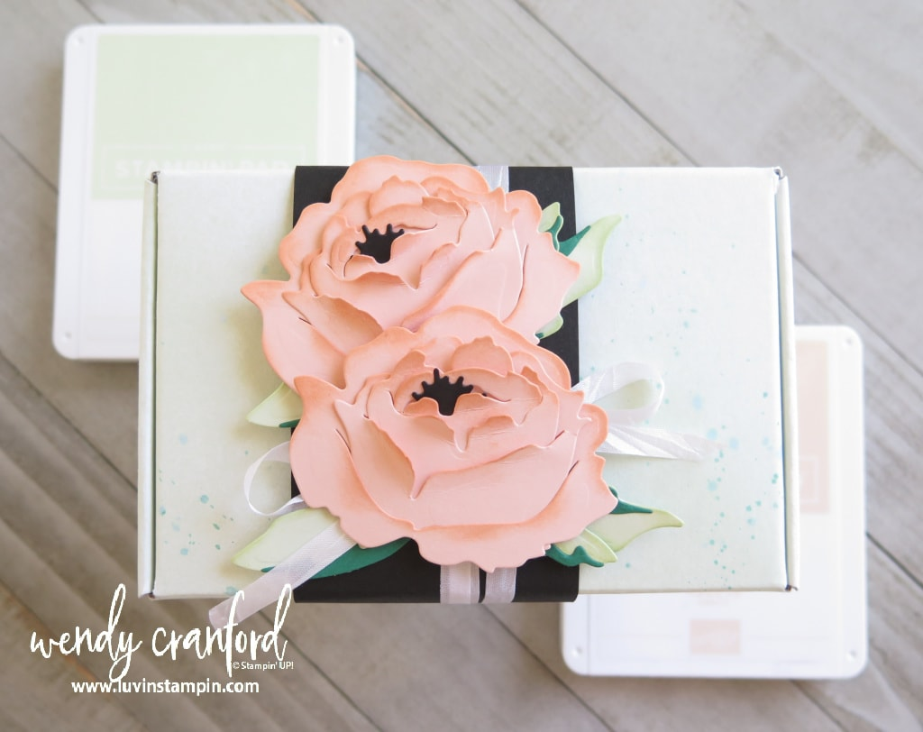 Paper Peony from Stampin' UP! Prized Peony Bundle inspired by Color Splash Nine