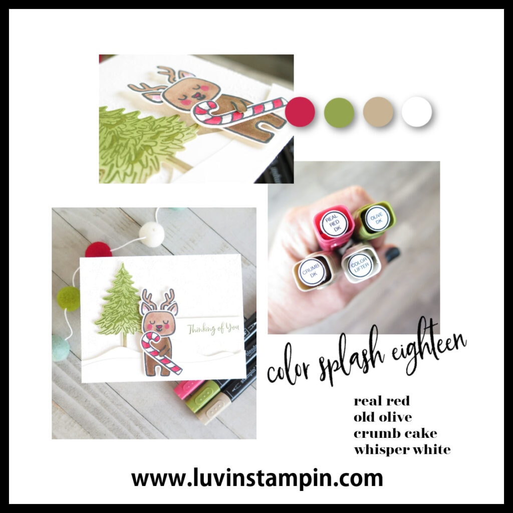 Color Splash 18 featuring Menagerie Mix Up from Stampin' UP!