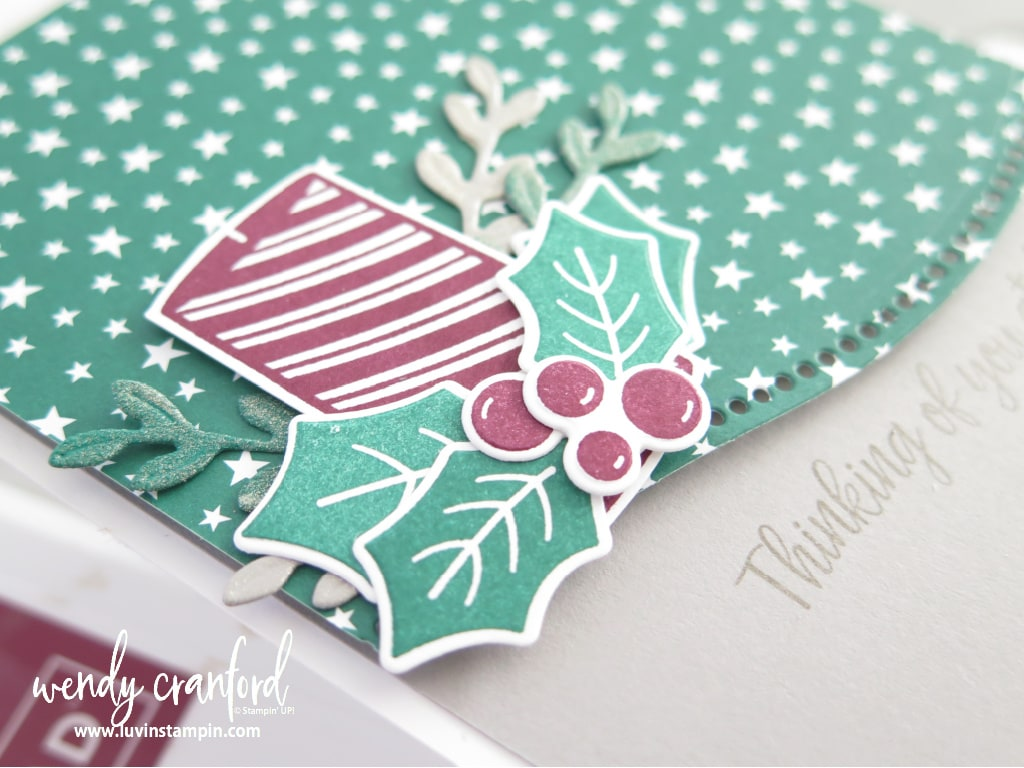 Sweetest Time Bundle from Stampin' UP! is a beautiful set with the Curvy Christmas stamp set.