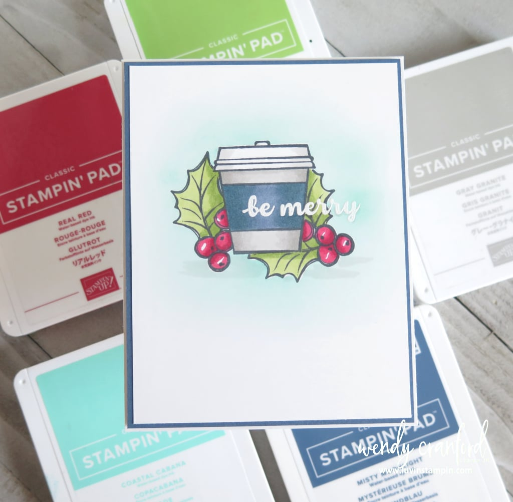 Masking tips and tricks featuring Press On stamp set from Stampin' UP!