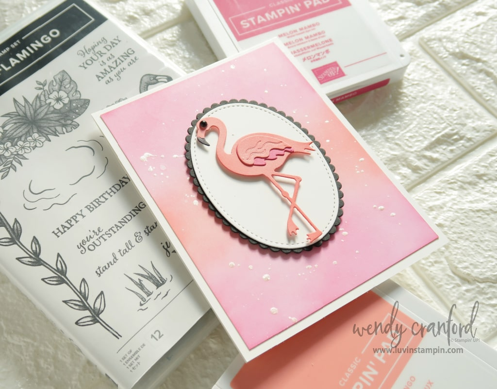 Happy New Year & Friendly Flamingo Bundle from Stampin' UP!