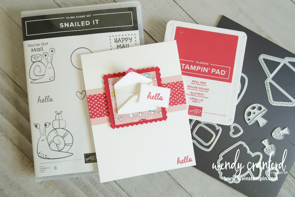 Snailed It Bundle from Stampin' UP!
