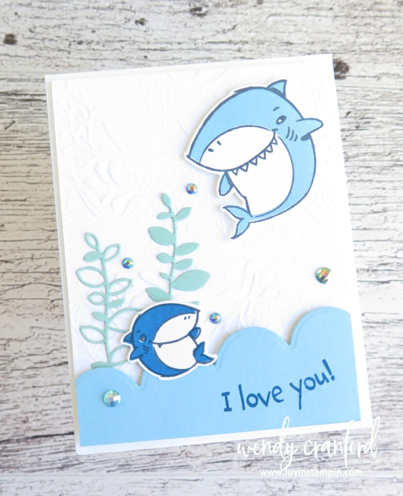 Shark Frenzy Bundle from Stampin' UP!