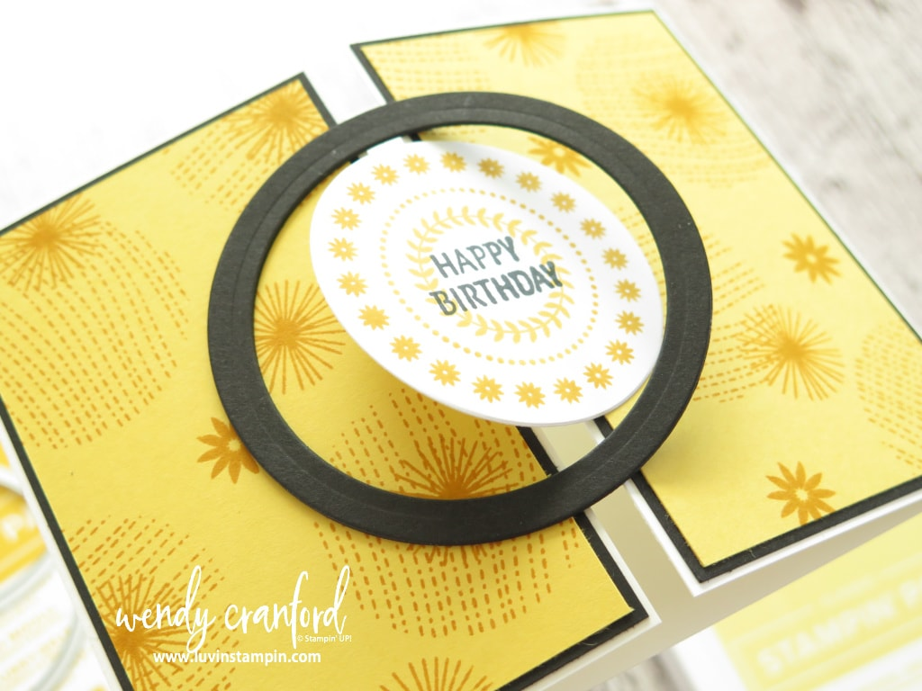 Interlocking Gatefold Cards using the Circle Celebration stamp set