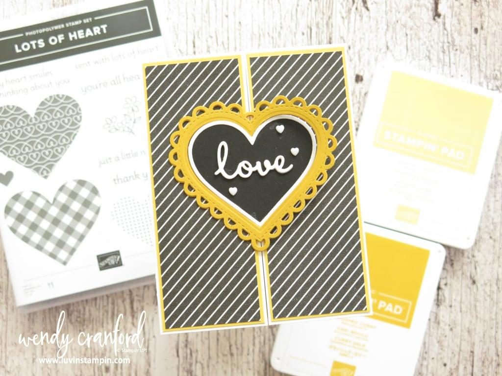 Valentines card featuring Color Splash 31