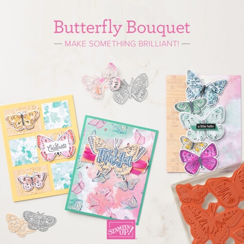 Butterfly Brilliance Bundle and Butterfly Bouquet products