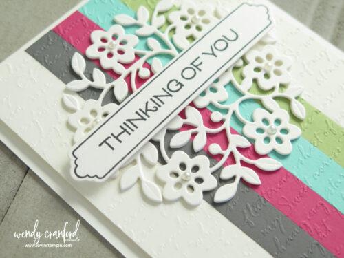 Layered die-cut cards