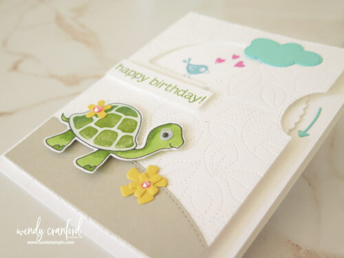 How to make Interactive cards using the Give It A Whirl Dies from Stampin' UP!