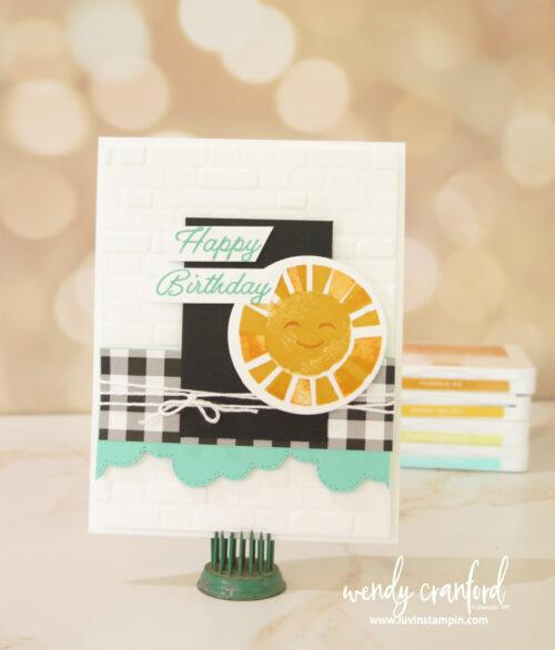 Sharing Sunshine Stampin' UP! stamp set